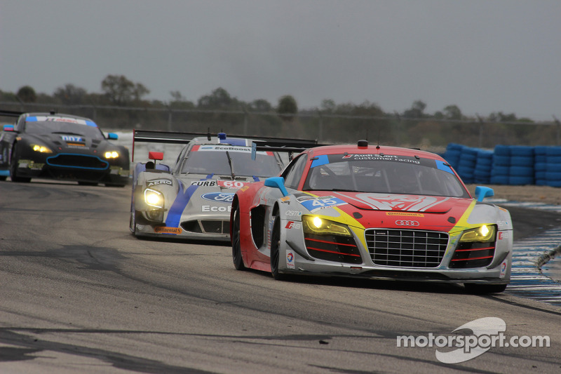#45 Flying Lizard Motorsports Audi R8 LMS: Nelson Canache, Spencer Pumpelly, Markus Winkelhock, Tim Pappas