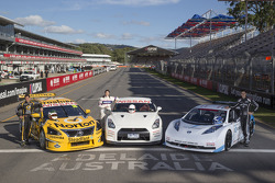 Nissan Altima V8 Supercar, Nissan GT-R and Nissan Leaf Nismo RC