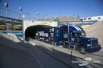 Hauler of Jimmie Johnson