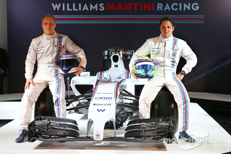 Felipe Massa and Valtteri Bottas, Williams Martini F1 Team