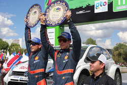 Third place Thierry Neuville and Nicolas Gilsoul, Hyundai i20 WRC, Hyundai Motorsport