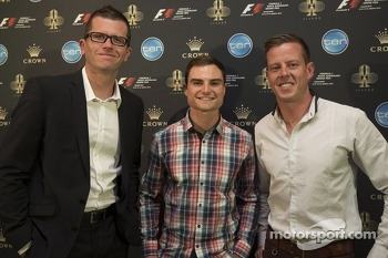 Garth Tander, Tim Slade and James Courtney