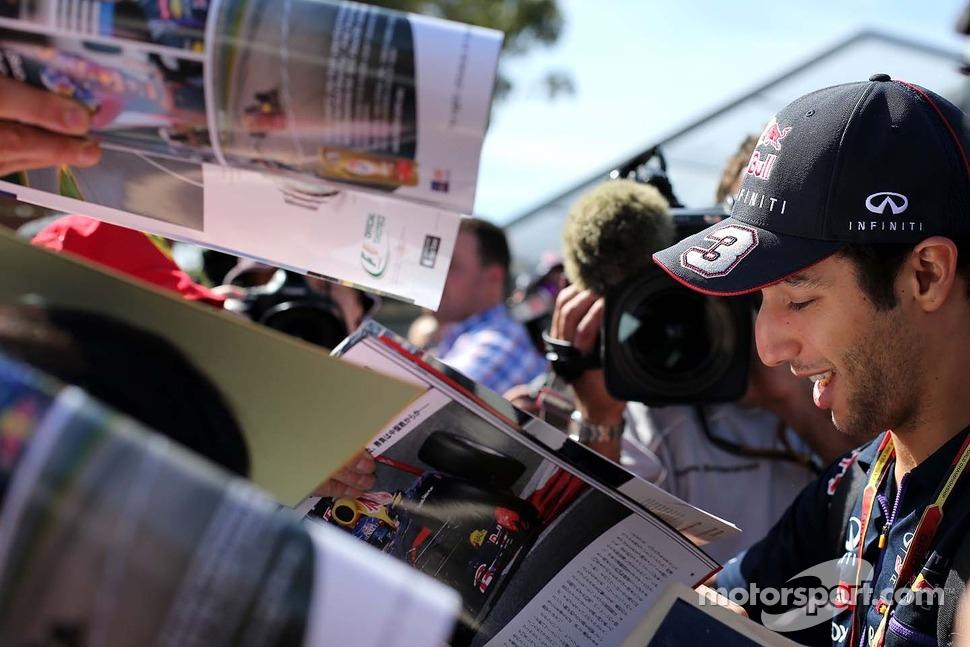 Daniel Ricciardo (AUS), Red Bull Racing 13