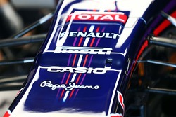 FOM camera mounted in the nosecone of the Red Bull Racing RB10