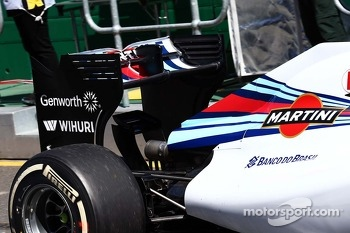 Felipe Massa, Williams FW36 rear wing
