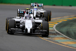 Valtteri Bottas, Williams F1 Team and Felipe Massa, Williams F1 Team