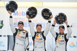 PC class podium: winners Colin Braun, Jon Bennett, James Gue