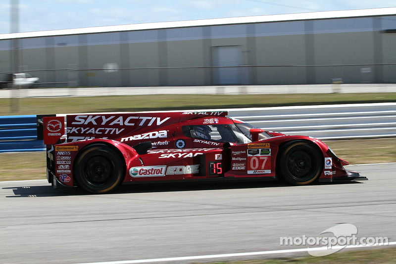 #07 SpeedSource Mazda Mazda: Tristan Nunez, Joel Miller, Tristan Vautier
