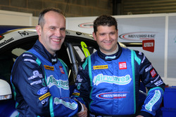 Airwaves Racing new team mates Fabrizio Giovanardi and Mat Jackson