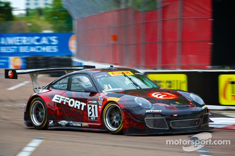 #31 EFFORT Racing Porsche GT3 R: Tim Bergmeister