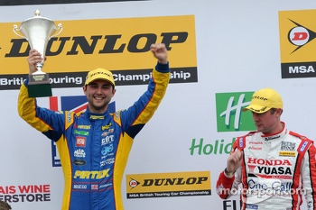 Round 2 Race Winner Andrew Jordan, Pirtek Racing