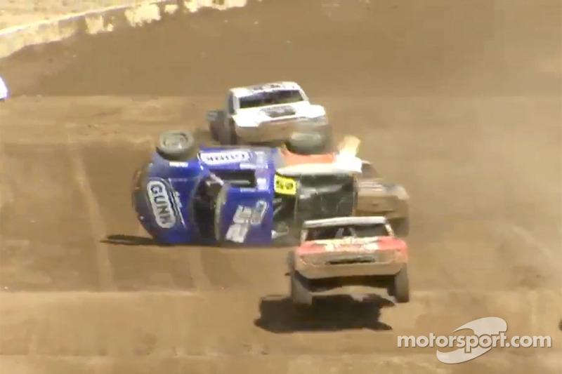 Arie Luyendyk Jr. crashes heavily
