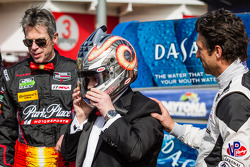 Park Place Motorsports livery presentation: Mike Vess and Patrick Dempsey