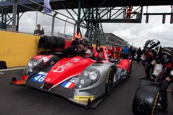 #46 Thiriet by TDS Racing Morgan Nissan: Pierre Thiriet, Ludovic Badey, Tristan Gommendy