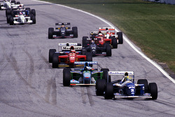 Ayrton Senna, Williams leads