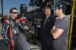 Kurt Busch, Andretti Autosport Honda and James Hinchcliffe