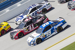 Jimmie Johnson, Kurt Busch and Carl Edwards