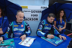 Airwaves Racing duo Fabrizio Giovanardi and Mat Jackson