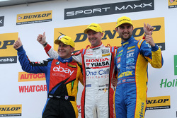 Round 8 Podium: 1st Gordon Shdden, 2nd Andrew Jordan, 3rd Rob Collard