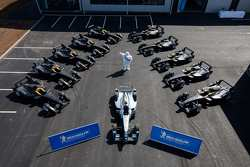 FORMULA-E: The 11 Spark-Renault STR_01E cars