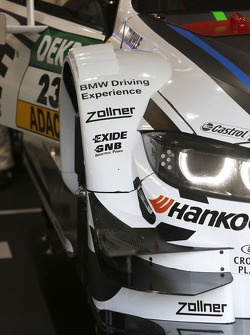 Detail of the car from Marco Wittmann, BMW Team RMG BMW M4 DTM