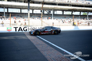 Sam Schmidt drives at Indy