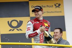 Podium, Edoardo Mortara, Audi Sport Team Abt Audi RS 5 DTM