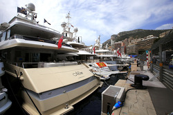 Monaco atmosphere, yachts