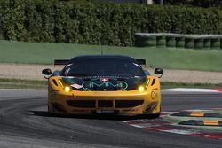 #81 Kessel Racing Ferrar F458 Italia: Thomas Kemenater, Matteo Cressoni
