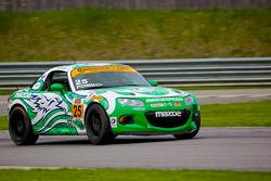 #25 Freedom Autosport Mazda MX-5: Mat Pombo, Mark Pombo