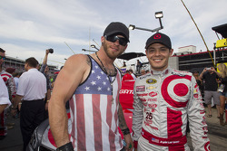 Brantley Gilbert and Kyle Larson