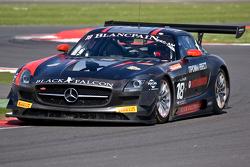 #18 Black Falcon Mercedes SLS AMG GT3:  Yury Loboda, Vladimir Lunkin,  Mikhail Loboda