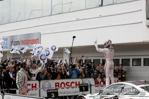 Race Winner Marco Wittmann, BMW Team RMG BMW M4 DTM