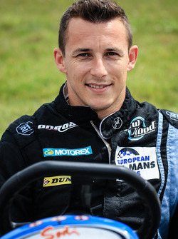 Media/drivers karting race: Christian Klien