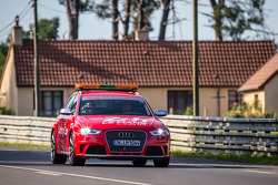 Audi safety car before qualifying session