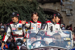 Ricky Taylor, Keiko Ihara and Pierre Ragues