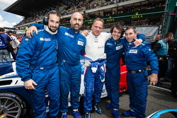 LEMANS: Sergey Zlobin with his crew