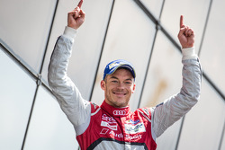 LMP1-H podium: class and overall winner Andre Lotterer