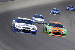 NASCAR-CUP: Casey Mears and Danica Patrick