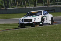 Dyson Racing Bentley test