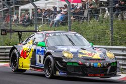 #8 Haribo Racing Porsche 997 GT3 R: Norbert Siedler, Jörg Bergmeister, Mike Stursberg, Hans Guido Riegel