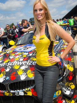 A lovely Dunlop girl