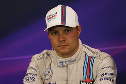 Valtteri Bottas, Williams in the post race FIA Press Conference