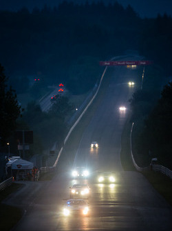 Night race action on the Döttinger Höhe