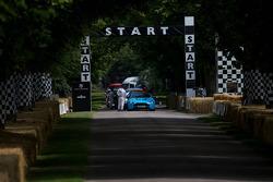 Aston Martin at the Start