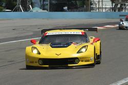 TUSC: #3 Corvette Racing  Chevrolet Corvette C6 ZR1: Jan Magnussen, Antonio Garcia