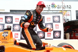 INDYCAR: Simon Pagenaud celebrates pole for race one