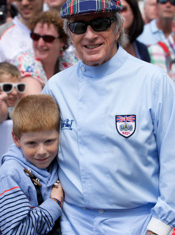 Sir Jackie Stewart with his grandson