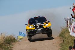 Krzysztof Holowczyc and Lukasz Kurzeja, Ford Fiesta WRC