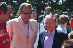 Lord March and Jean Todt
